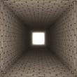 brick wall tunnel - 75022362