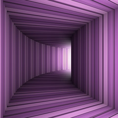 lilac tunnel