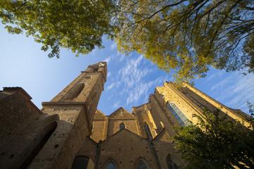 Italia,Toscana,Firenze,Chiesa di Santa Croce,abside.