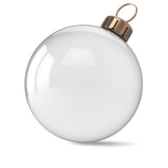 New Years Eve Christmas ball ornament clean decoration