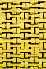 Pfosten und Elemente für Baugerüst