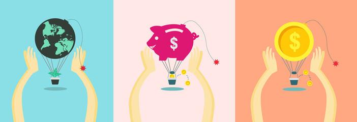 saving money & world