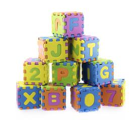 English Alphabet puzzle