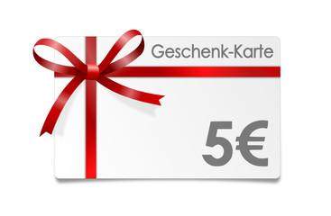 Gutschein Euro