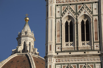 Firenze,Campanile di Giotto e Cupola del Duomo