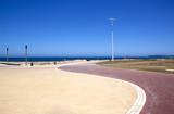 Refurbished Promenade at Beachfront, Durban South Africa poster
