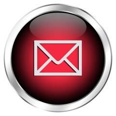 E-Mail Button glossy