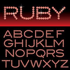 ruby alphabet