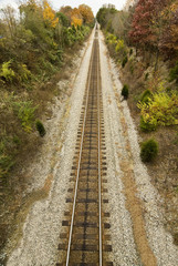 Train Tracks To Infinity