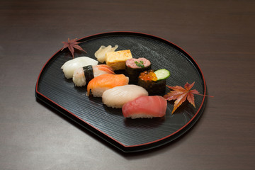 日本食の代表、寿司