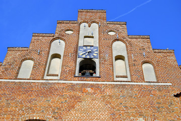 Kirchfassade Heiligenhafen 2014