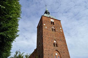 Fassade Kirchturm Heiligenhafen 2014