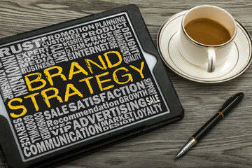 brand strategy concept