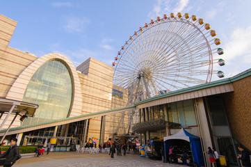 ferris wheel in taipei city