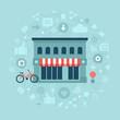 Social Media in Local Business - 75027590