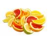 Zitrusfrüchte isoliert, auf weiss