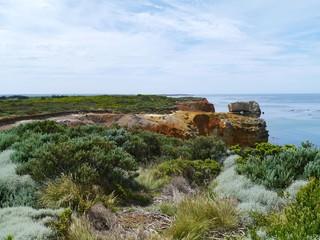 Bay of islands coastal park in Victora in australia