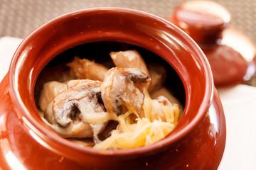 Goulash in a pot