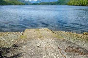 Concrete Boat Ramp