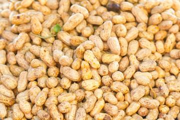 cacahuètes, arachides fraîches