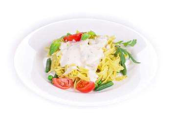 Tasty italian pasta