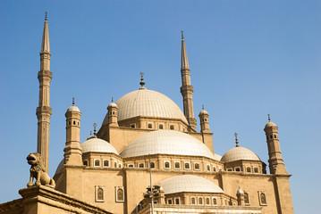 The Mosque of Muhammad Ali in Cairo, Egypt, Islam, Religion