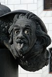 Head of Albert Einstein, Ulm, Germany poster