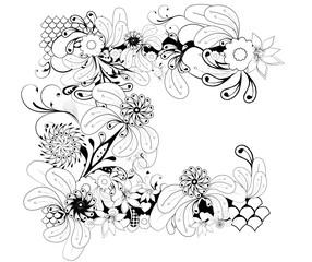 arabesques florales