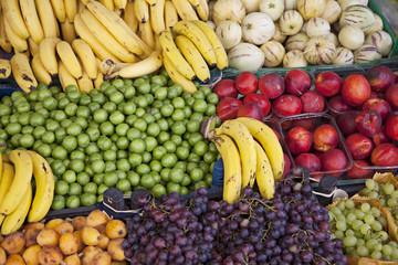 Fruits at a market stall