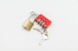 padlock with keys
