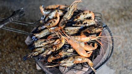 prawn seafood grill
