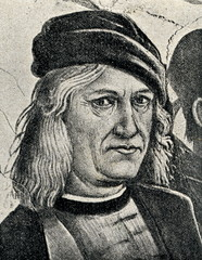 Selfportrait of Luca Signorelli, Italian Renaissance painter