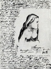 Page from Mikluho-Maklay's diary