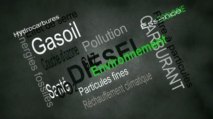 Pollution dûe au diesel et aux particules fines