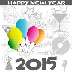 Background Happy New Year 2015