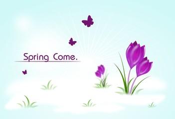 Spring come