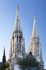 The Votive Church in Vienna, Austria