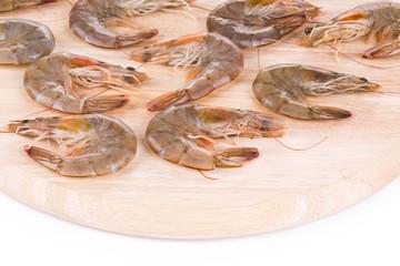 Fresh shrimps