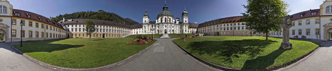 Kloster Ettal Panorama