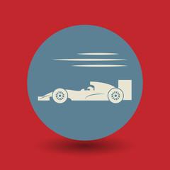 Race symbol, vector