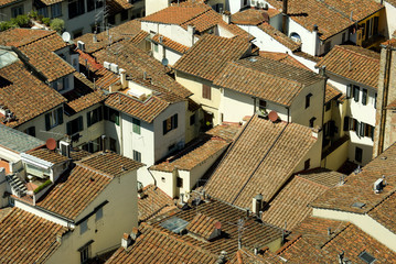 Tiled roofs of Florence