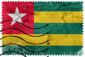 Togo Flag - old postage stamp