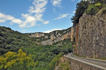 Strada nelle Gole dell'Ardeche - Rodano Alpi