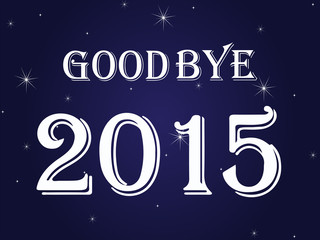 Good Bye 2015, Happy New Year