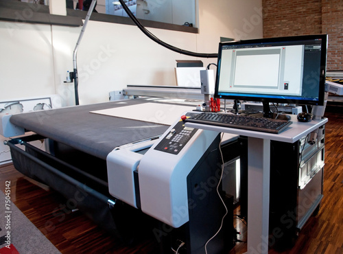 Flatbed cutter/router (cutting plotter) - 75045142