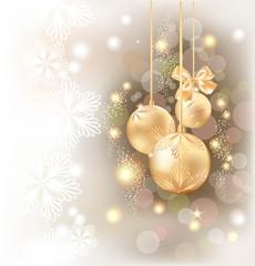 Праздничный новогодний фон