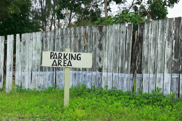Parking area-Vanuatu