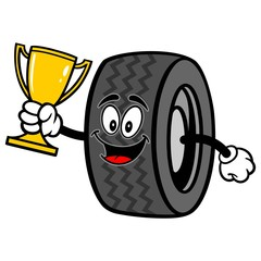 Tire with Trophy