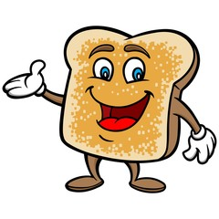 Toast Cartoon