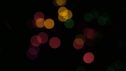 Vivid bokeh lights